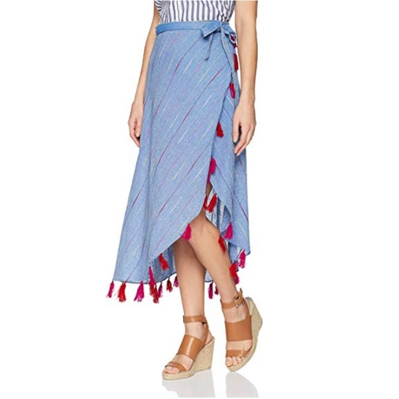 Red Carter Dresses & Skirts - Red Carter Navya Wrap Skirt M